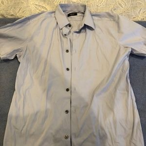 Theory Short Sleeve Button Up